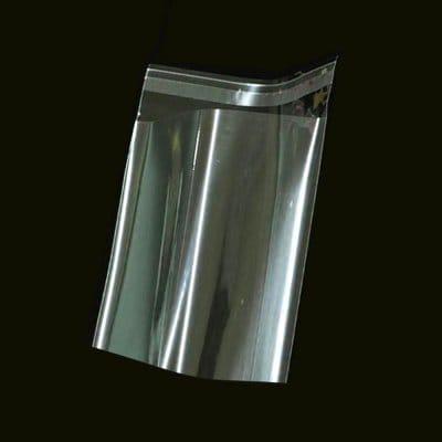 접착식 투명 비닐 OPP 봉투 13X20cm+4cm (400매)_이미지