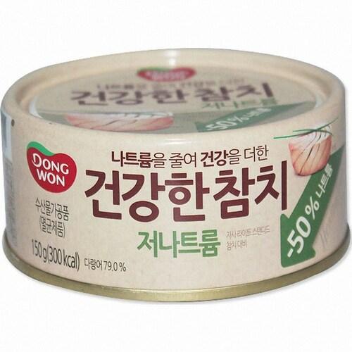 동원F&B  건강한 참치 저나트륨 150g (36개)_이미지