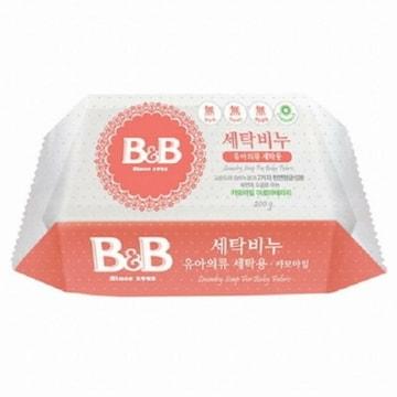 비앤비 세탁비누 유아의류용 카모마일 200g(1개)