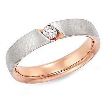 [남] 몰리즈 14K 드비올 2부 다이아몬드 남자 반지