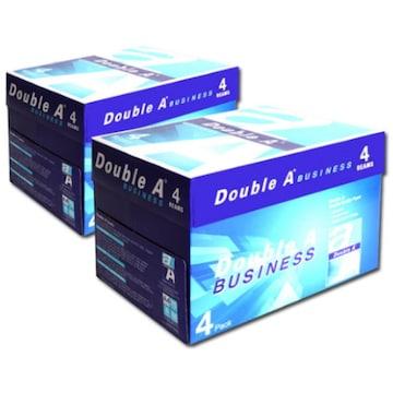 더블에이  비즈니스 복사용지 A4 75g 박스 (4,000매)