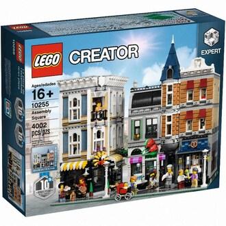레고 크리에이터 어셈블리 스퀘어 (10255) (정품)_이미지