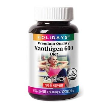 홀리데이즈 잔티젠 600 30캡슐(1개)