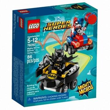 레고 DC 슈퍼히어로 배트맨 대 할리 퀸 (76092) (정품)