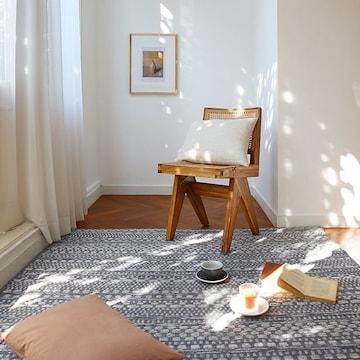 메종드룸룸 벨기에 월넛 사이잘룩 카페트(200x290cm)