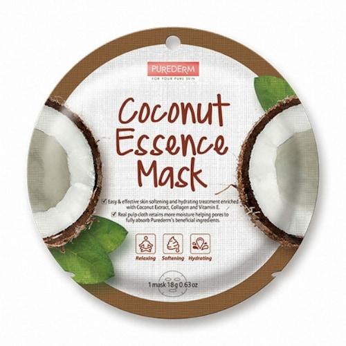 퓨어덤 코코넛 에센스 원형 마스크팩 (1매)_이미지