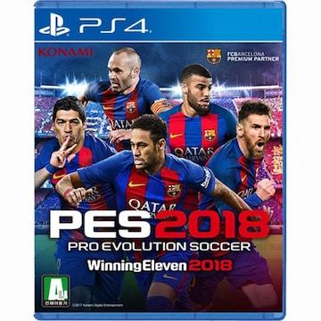 KONAMI PES 2018 - 프로 에볼루션 사커 2018 (Pro Evolution Soccer 2018) PS4(한글판,일반판)