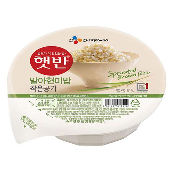 CJ제일제당 햇반 발아현미밥 작은공기 130g (36개)