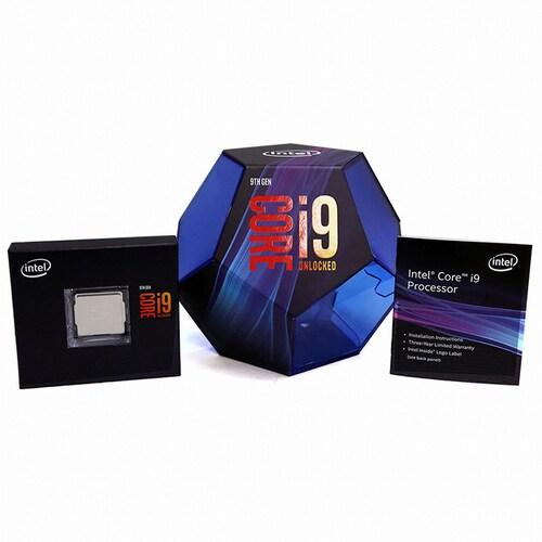 인텔 코어i9-9세대 9900K (커피레이크-R)(정품)