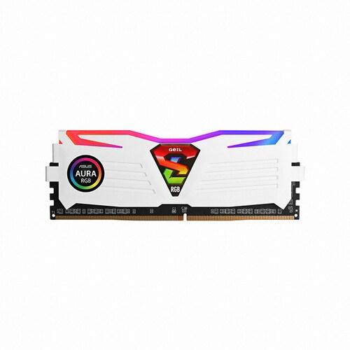 GeIL  DDR4 4G PC4-19200 CL17 SUPER LUCE RGB Sync 화이트_이미지