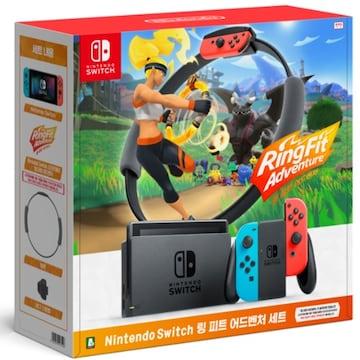 Nintendo 닌텐도 스위치 링 피트 어드벤처 세트
