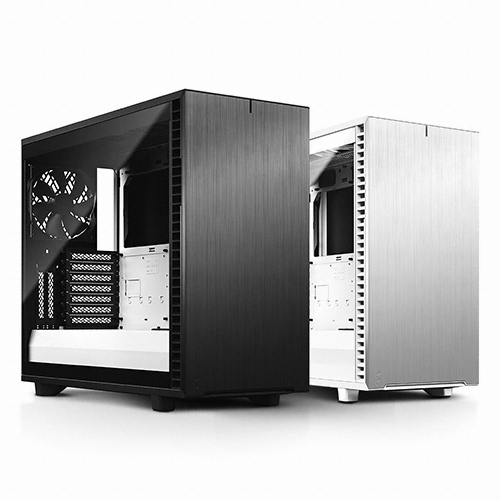 Fractal Design Define 7 Clear 강화유리 (Black White)