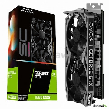 EVGA 지포스 GTX 1660 SUPER SC ULTRA GAMING D6 6GB