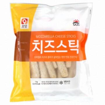 사조오양 치즈스틱 1kg(1개)