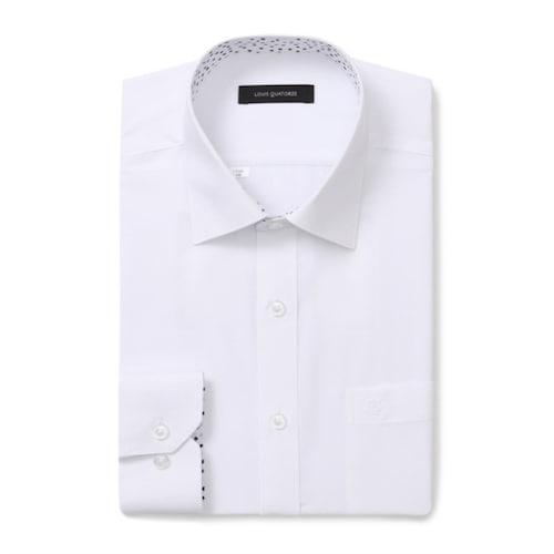 루이까또즈  화이트 일반 긴소매 셔츠 L7C061_이미지