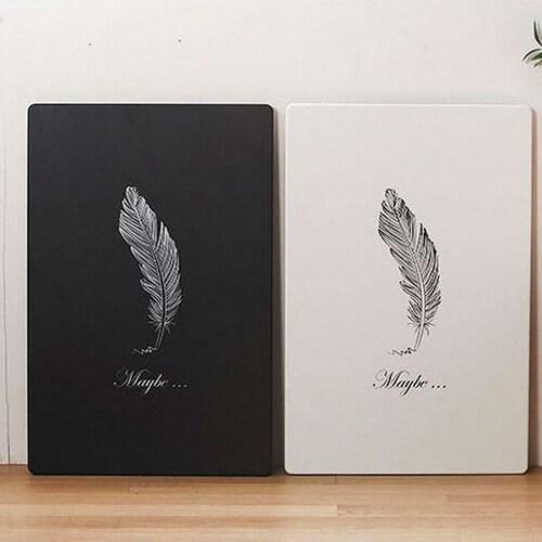스토리퍼니쳐 깃털 접이식 테이블 (78x57cm)_이미지