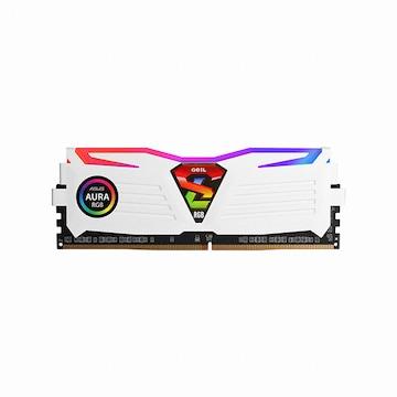 GeIL DDR4 8G PC4-19200 CL17 SUPER LUCE RGB Sync 화이트