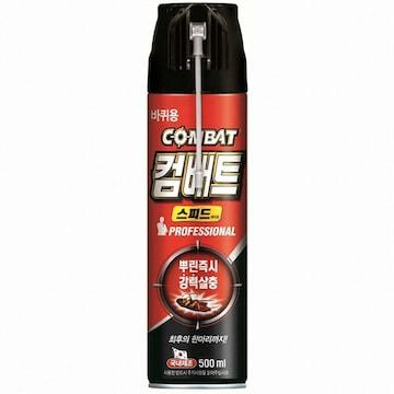 컴배트 스피드 에어졸 500ml(1개)