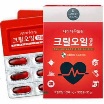 네이처드림 크릴오일 30캡슐(1개)