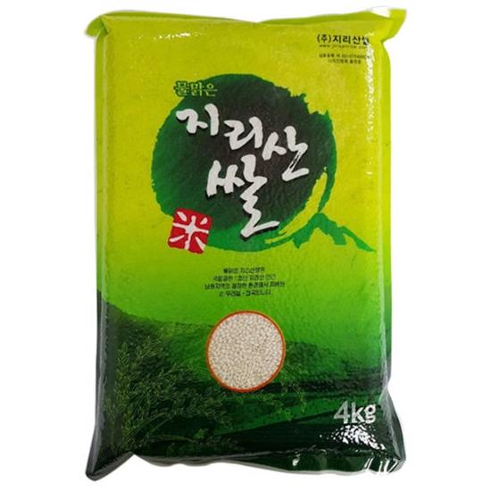 지리산쌀 물맑은 지리산쌀 찹쌀 4kg (20년 햅쌀)(1개)