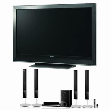 SONY 브라비아 DAV-DZ850KW 풀HD 홈시어터 + SONY 디지털TV (KDL-46W3500)_이미지