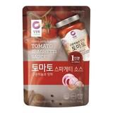 대상 청정원 구운마늘과 양파 토마토 스파게티 소스 170g  (1개)