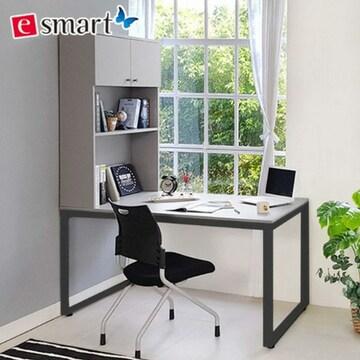 e스마트  스틸 h형 책상 (180x80cm)