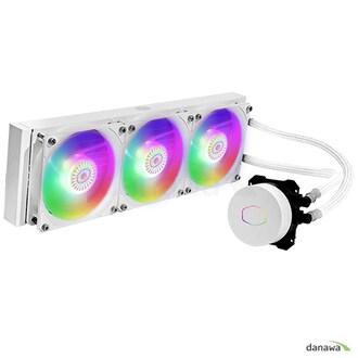 쿨러마스터 MasterLiquid ML360L V2 ARGB (WHITE)_이미지