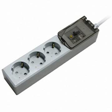 동양전자산업 루넥스 3구 16A 누전차단 고용량 멀티탭 (2m)