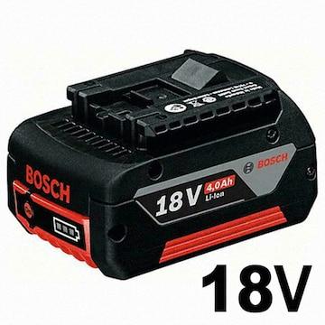 보쉬  18V 리튬이온 배터리 (4.0Ah)