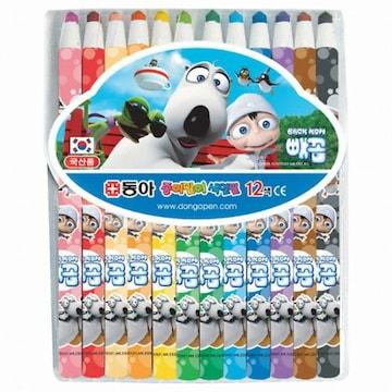 동아 종이말이 색연필(12색)