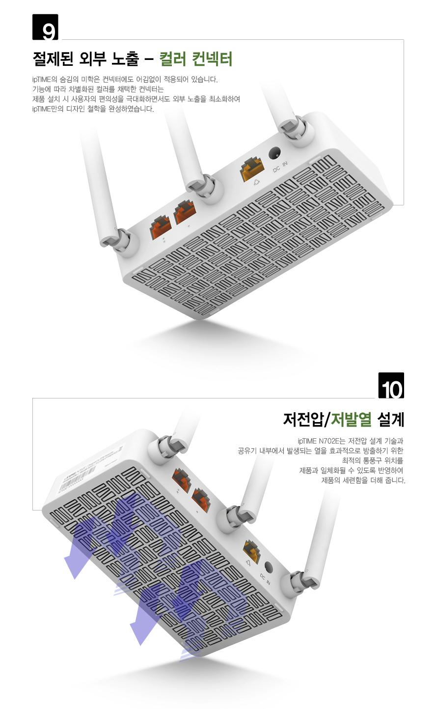 EFM ipTIME N702E 유무선공유기