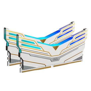OLOy DDR4-3200 CL14 WarHawk PLATINUM SE RGB White 패키지