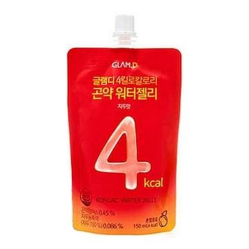 에이피알 글램디 4킬로칼로리 곤약 워터젤리 자두맛 150ml (1개)