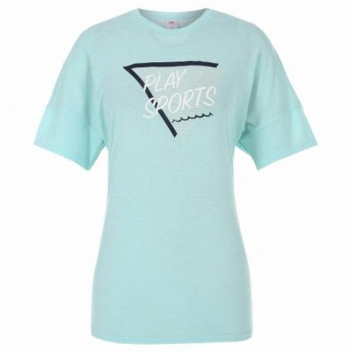 JDX골프  여성 그래픽 원포인트 변형핏 티셔츠 X3QMTSW53MT_이미지