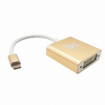 IN NETWORK USB 3.1 Type C to DVI 골드메탈 컨버터 (IN-U31D29)
