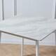 메종드보 라끄 사각 통세라믹 식탁세트 (의자2개)_이미지