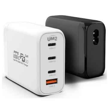 아임커머스 UM2 USB-PD PPS/QC3.0 120W 4포트 충전기 GANMAX130W