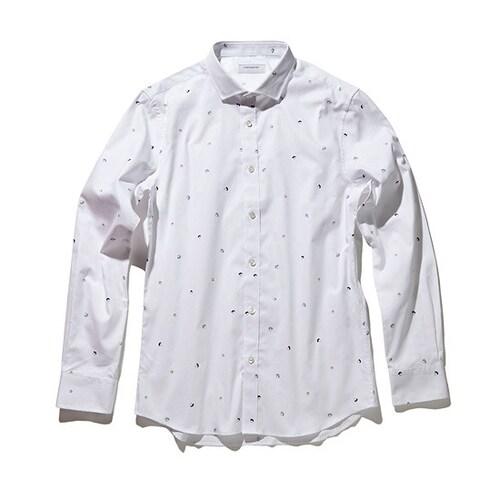 코오롱인더스트리 커스텀멜로우 face motive pattern shirts CWSAA17535WHX_이미지