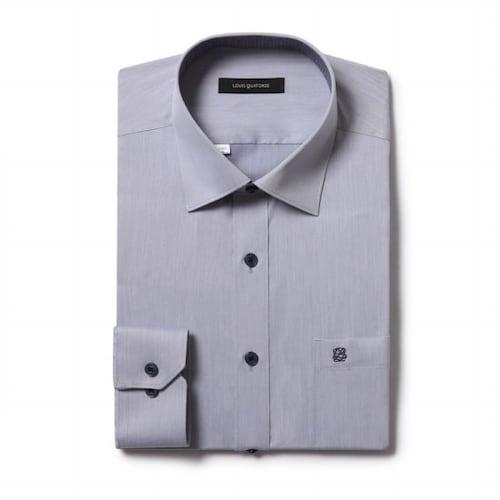 루이까또즈  긴소매 일반핏 셔츠 L7C053_이미지