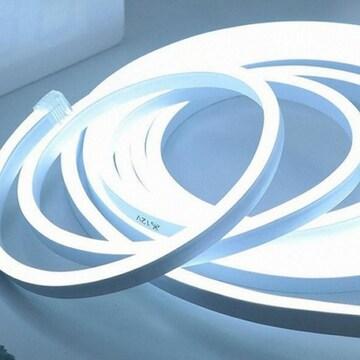 라이트컴 COMS LED 튜브네온 플렉시블 바 슬림형 화이트 500cm