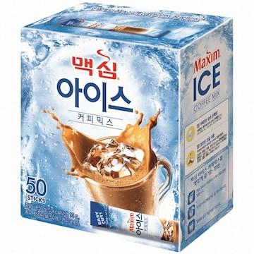 동서식품 맥심 아이스 커피믹스 스틱 50T (1개)