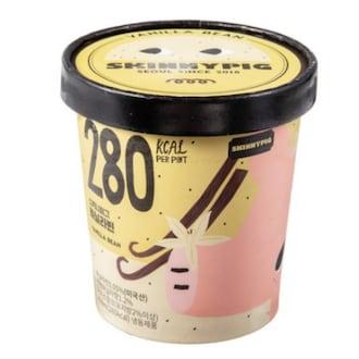 스키니피그 저칼로리 아이스크림 바닐라빈 파인트 474ml (1개)_이미지