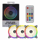 topower  COOLER WING JINI-R1 120 RGB(3PACK/Controller)
