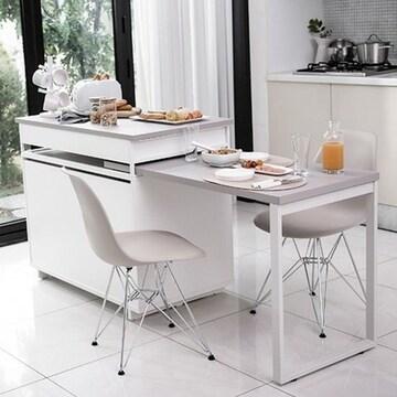 한샘  베리 라이트 아일랜드식탁 테이블형 (의자별도)