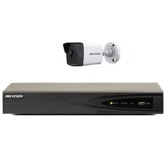 HIKVISION DS-7604NI-K1/4P + DS-2CD1021-I (녹화기 + 카메라 4개)_이미지