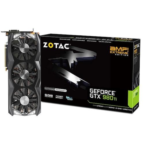 ZOTAC AMP EXTREME 지포스 GTX980 Ti D5 6GB_이미지