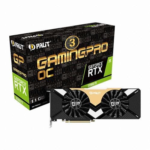 PALIT  지포스 RTX 2080 Ti GAMINGPRO OC D6 11GB_이미지