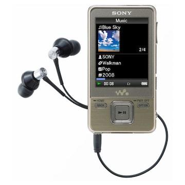 SONY Walkman NWZ-A720 시리즈 4GB (SONY NWZ-A726 MP3 , 정품)_이미지