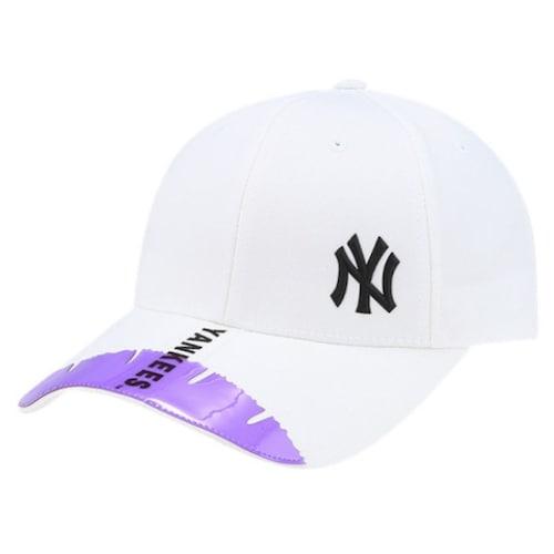 MLB  뉴욕 양키스 PVC 웨빙 커브조절캡 32CPNA841-50C_이미지